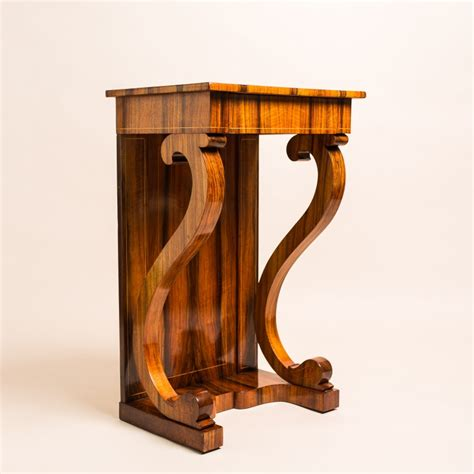 biedermeier konsole biedermeier wall console masterpiece antiques