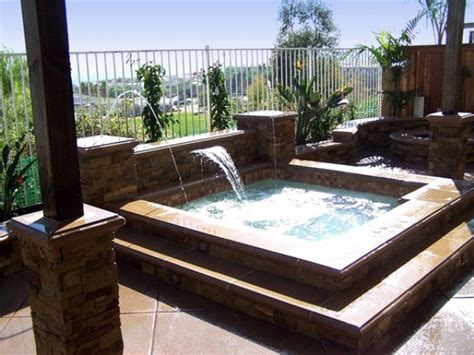 hot tub backyard design ideas 48 awesome garden hot tub designs digsdigs