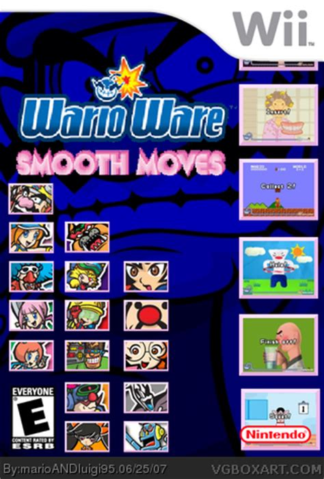warioware: smooth moves wii box art cover by marioandluigi95