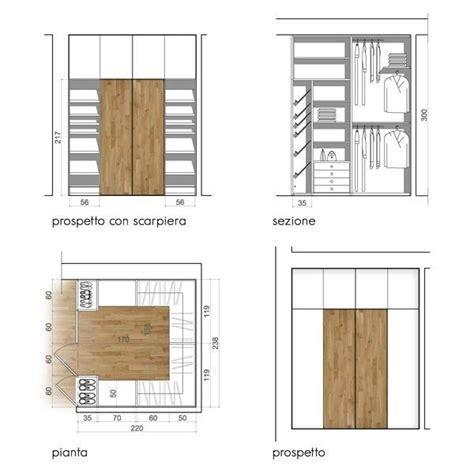 organizzare una cabina armadio progettare una cabina armadio misure e dimensioni minime