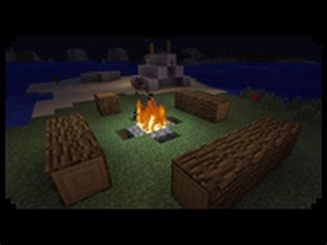 minecraft     decorative tent  campfire