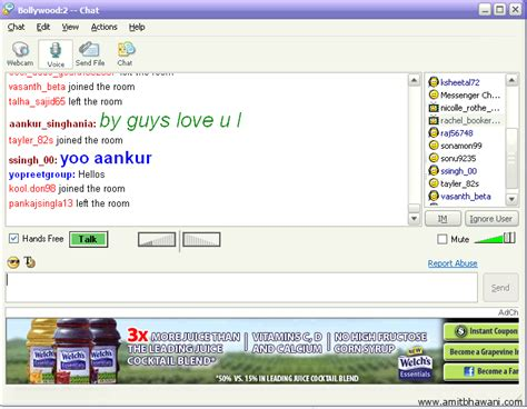 chat room lottiesweblog