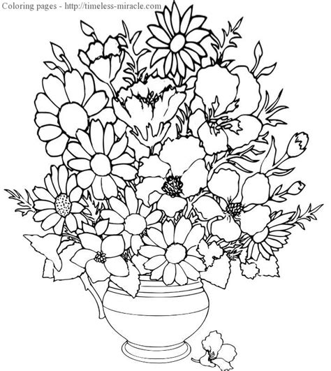 coloring pages of flowers hard coloring pages of flowers difficult