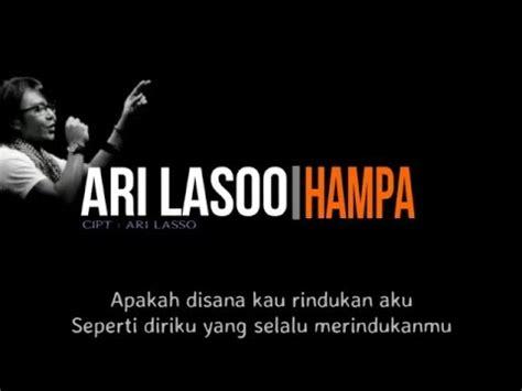 download mp3 ari lasso kau 6 87 mb free lagu ha ari lasso mp3 download tbm