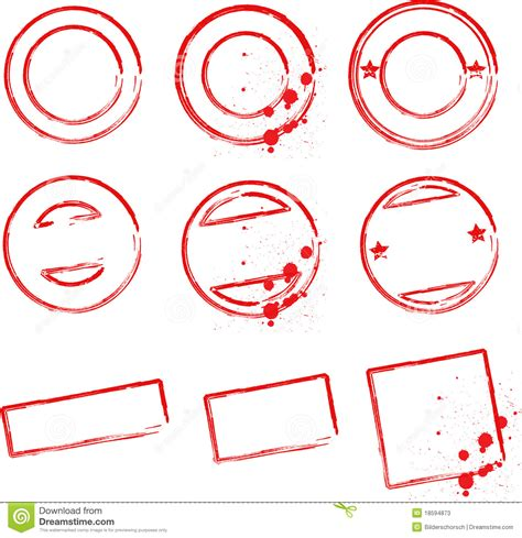 create rubber st free st templates stock vector illustration of grunge