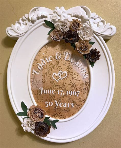 25  best Golden wedding anniversary gifts ideas on Pinterest