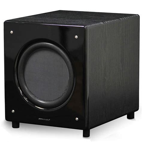 pure acoustics sn     active subwoofer speaker