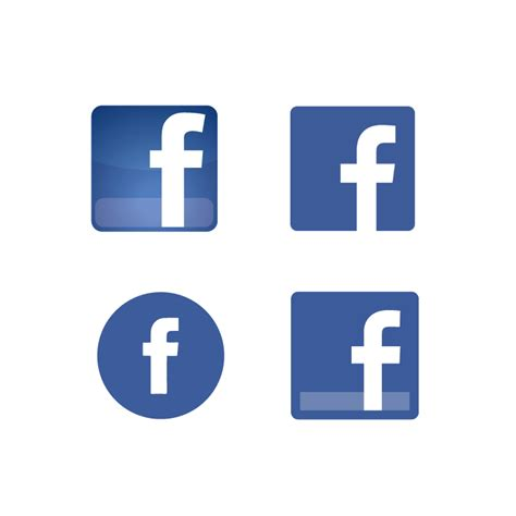 fb icon vector image gallery latest facebook icon