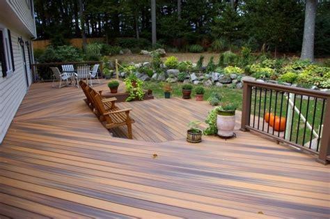 terrace  teak wood flooring modern solution