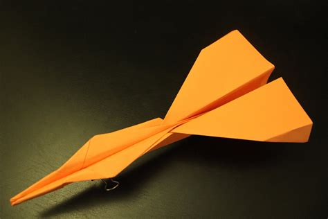 How To Make The Fastest Paper Plane - how to make the simple fastest paper plane origami