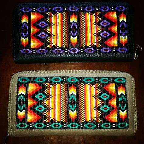 beadwork how beaded wallets see pattern for this design on my