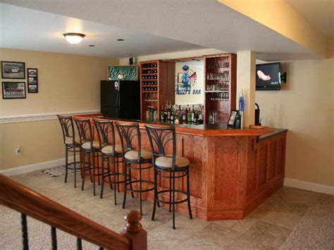ideas wooden furniture basement bar designs basement bar