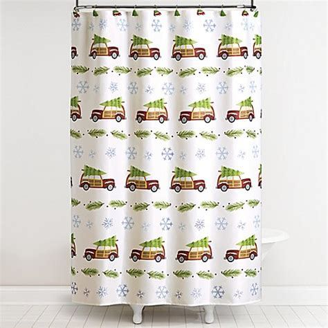 shower curtains for cers retro cars shower curtain and hook set bed bath beyond
