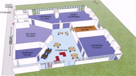 kindergarten school floor plan floor plan of kindergarten room youtube