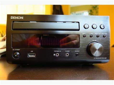 denon d m37 bookshelf stereo 150 obo saanich