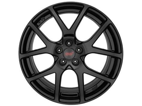 subaru crosstrek wheels subaru xv crosstrek wheel 18 quot sti part no b3110fl050