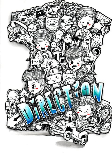 doodle 4 make one one direction doodle by mbacinillo on deviantart