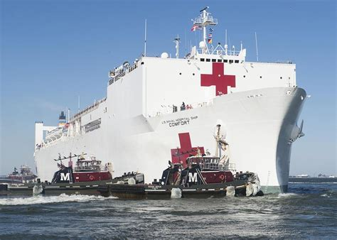 navy hospital ship comfort the military sealift command hospital ship usns comfort