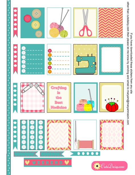 printable eclp stickers free printable crafts themed planner stickers