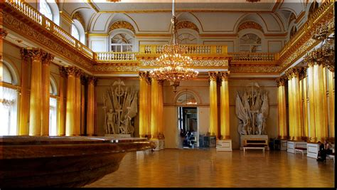 the golden room the gold room hermitage st petersburg russia charita