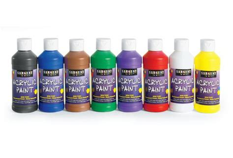 acrylic paint and supplies acrylic color painting supplies discount school supply