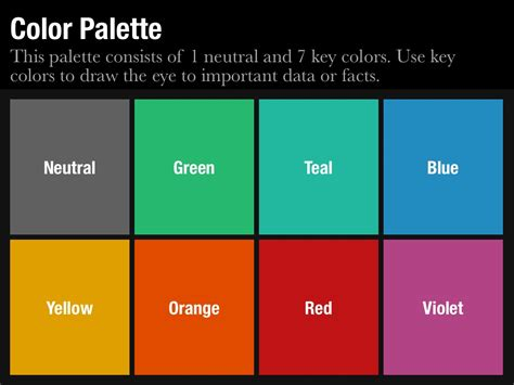 color templates color palette template for keynote and powerpoint slidevana