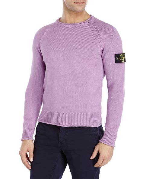 Sweater The Stones island roll neck knitted jumper garden house lazzerini