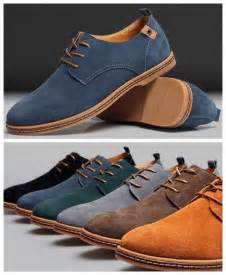 mens casual oxford shoes new mens casual dress formal oxfords flats shoes genuine