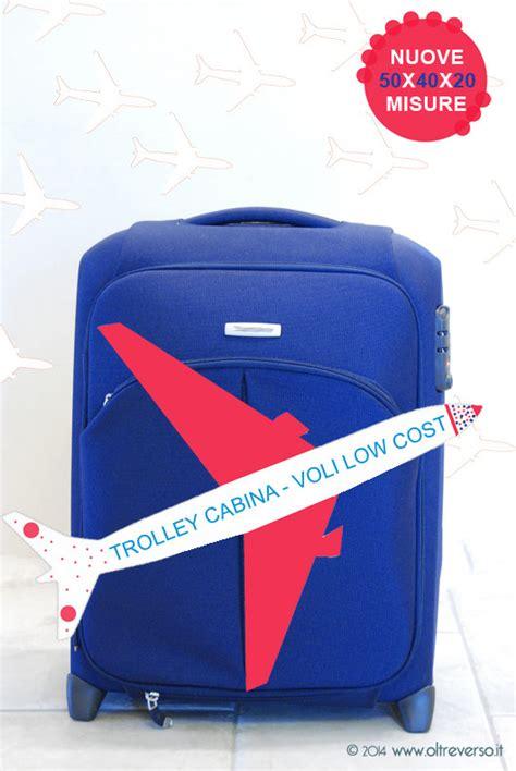 misure trolley da cabina trolley da cabina bagaglio a mano 55x40x20 voli low cost