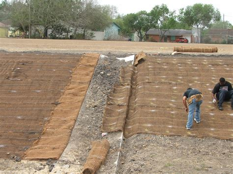 Grass Seed Straw Mat by Erosion Blanket Buffel Grass Seed Company