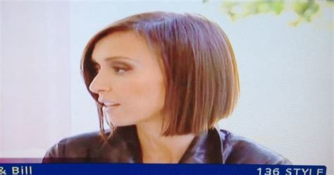 giuliana wavy bob haircut giuliana rancic short bob hairstyle side view cute