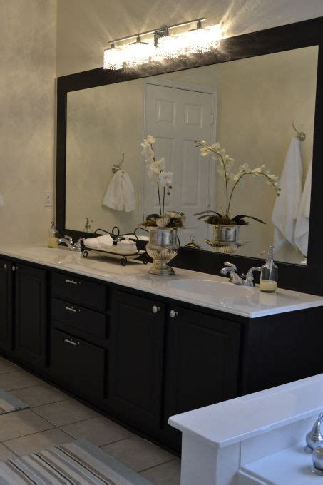 black framed mirrors for bathroom 25 best ideas about black cabinets bathroom on pinterest