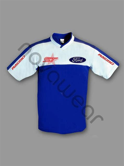 Ford Clothing by Ford St T Shirt Blue Ford Clothing Ford St Merchandise