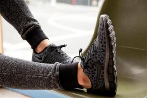 grey cheetah nike running shoes shoes leopard print grey black nike tick wheretoget