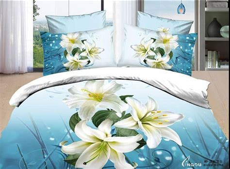 white comforter with blue flowers white flowers comforter sets floral bed linen blue bedding