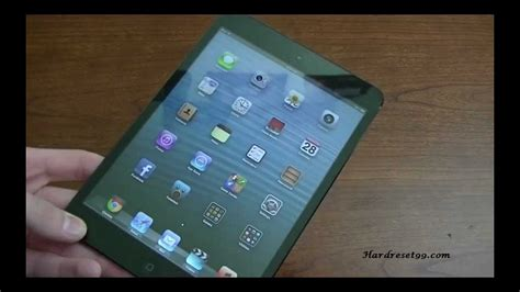resetting wifi ipad apple ipad mini wi fi 16 gb hard reset factory reset