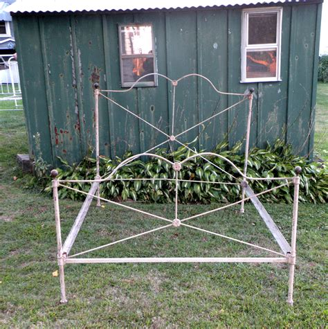 antique rod iron beds antique steel bed frame wrought iron bed frame civil war era