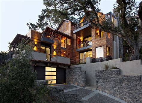 hillside home the hillside house by sb architects san francisco