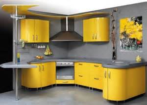 Yellow Kitchen Design by Amazing Yellow Kitchen Design Idea