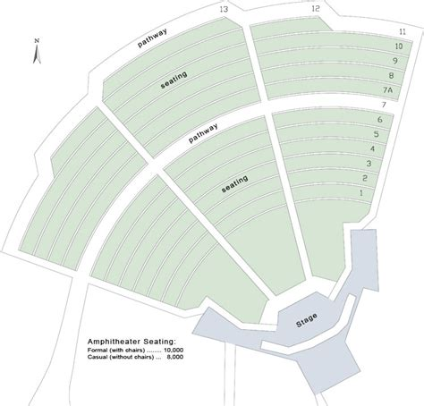 Theatre Floor Plan amphitheater california state university stanislaus