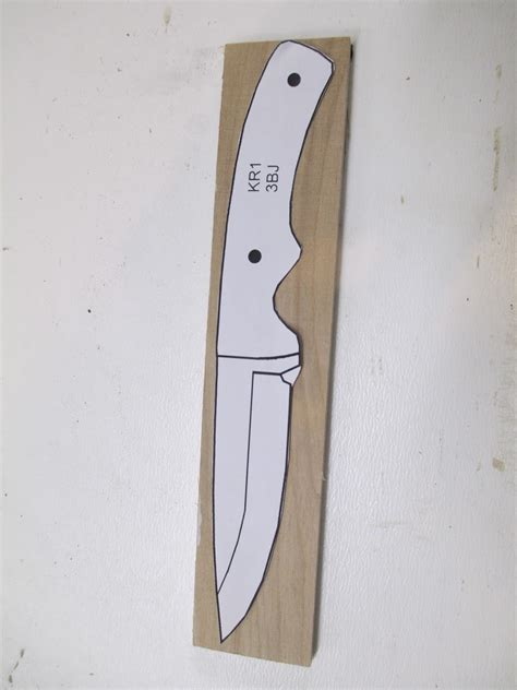 pattern cutting knife diy knifemaker s info center knife patterns