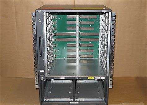new cisco catalyst ws c6509 e modular switch chassis with