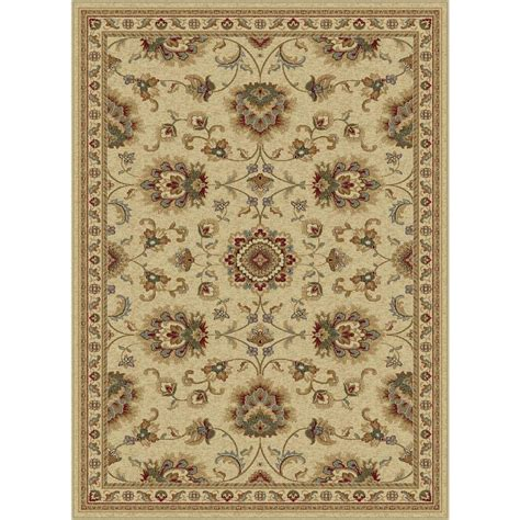 tayse rugs sensation ivory 8 ft 9 in x 12 ft 3 in