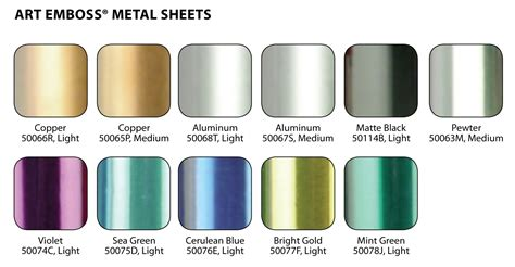 what color is aluminum save on discount amaco artemboss soft metal foil sheet 9