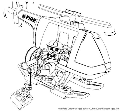 lego fire truck coloring page free coloring pages of lego trucks