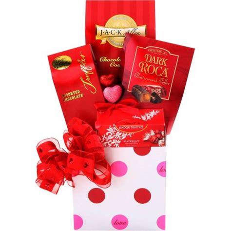valentines gifts walmart alder creek chocolate gift basket 6 pc