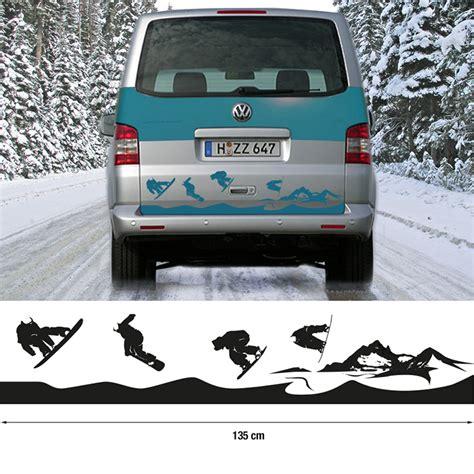 Aufkleber Auto Heck by Auto Aufkleber Cer Heck Snowboarder