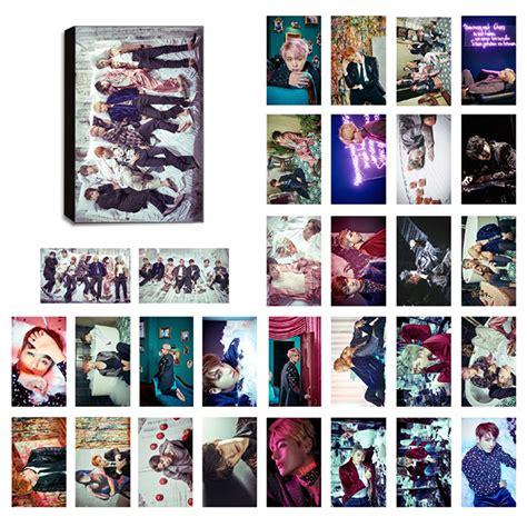 Photo Card Member Bts bts wings lomo photocard set kpop mall usa