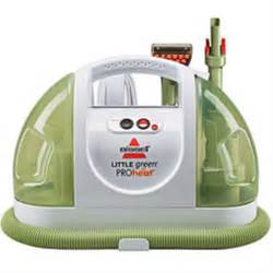 Steam Cleaners For Carpets And Upholstery 14257 Bissell Little Green Proheat Handheld Carpet Cleaner