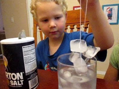 Kamikaze Salty 8003 F why salt melts easy science for salts for and water boiling